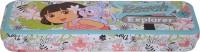 Disney Dora Cartoon Art Metal Pencil Box (Set Of 1, Multicolor)