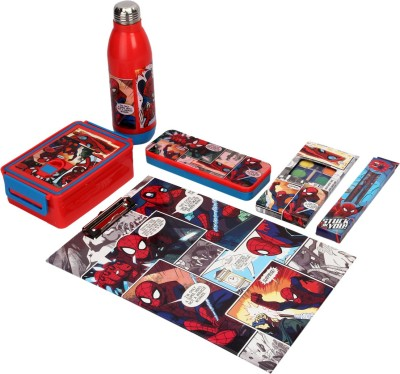 Disney Spider Man School Set