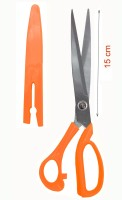 Styler Home Right Handed Home And Office Scissors (Set Of 1, Orange)
