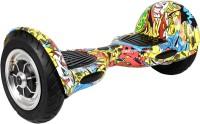1 Crazy Designer 1 Crazy Designer Hoverboard Segway Balance Weel Scooter - H-10.0-BLACK BLACK Electric Scooter (Black Grafitti)