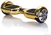 1 Crazy Designer 1 Crazy Designer Hoverboard Segway Balance Weel Scooter - H-6.5-CHROME-GOLD Electric Scooter (Chrome Gold)