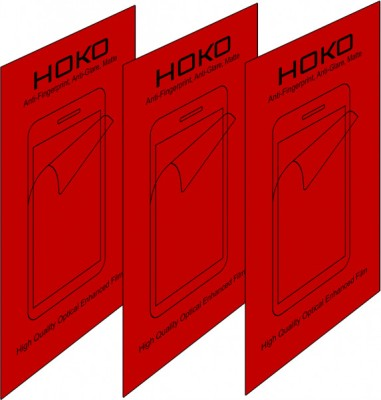 HOKO Pack of 3 Matte HM185 Anti Fingerprint Screen Protector for Kindle Paperwhite