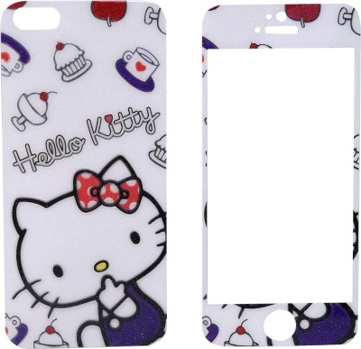JustX OX-014 Printed Front & Back Protector for Apple iPhone 5