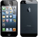 Big Zee Apple IPhone 5S Front & Back Matte HD Screen Guard Front & Back Protector For Apple IPhone 5S