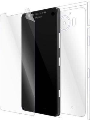 Gadgetshieldz 1451SPFB Front & Back Protector for Microsoft Lumia 950