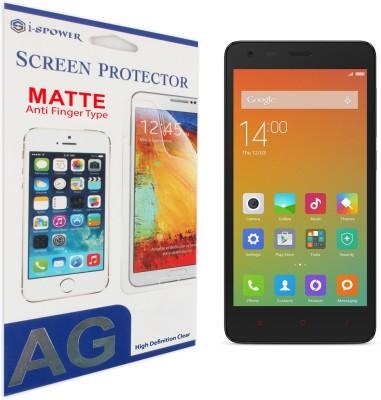 Si-Spower ISPAFPRED2P Matte Screen Guard for Xiaomi Redmi 2 Prime