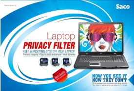 Saco PF704 Privacy Screen Guard for HP 14-r059tu Notebook