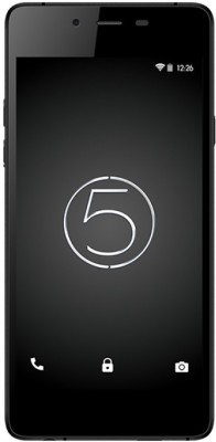 Micromax Canvas Sliver 5 (Black, 16 GB)