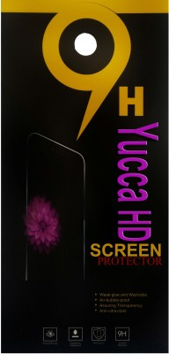YuccaHD WhiteLilly SG62 Screen Guard for Intex Aqua Star HD