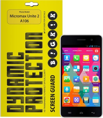 Bigkik 2911061002 Screen Guard for Micromax unite 2A106