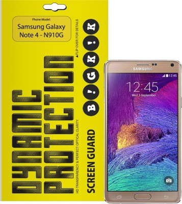Bigkik 2911011012 Screen Guard for Samsung Galaxy Note 4