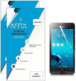 Affix P2CH212 Pack of 2 Clear HD Screen Guard for Asus Zenfone 5
