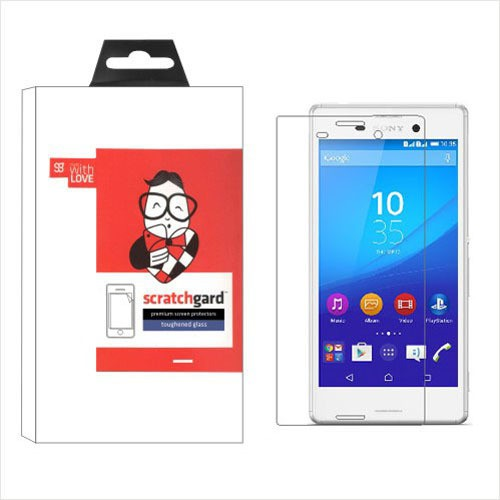Scratchgard Original Toughened Glass - (XM4) Screen Guard for Sony Xperia M4 Aqua