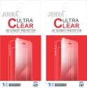 Johra C-757 Pack Of 2 Ultra Clear Screen Guard For Sony Xperia M4 Front & Back