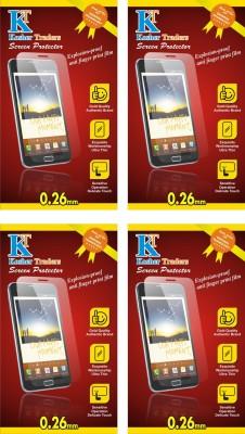 Kosher Traders kost-3586 4 Anti Fingerprint Screen Guard for Micromax Canvas Sliver 5 Q450