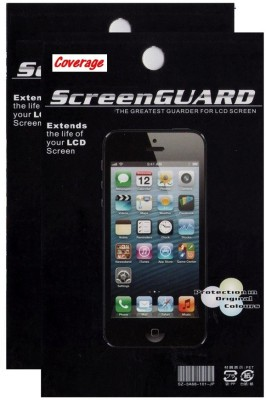 Coverage Pack of 2 Screen Guards for MICROMAX CANVAS SPARK Q380 Screen Guard for MICROMAX CANVAS SPARK Q380