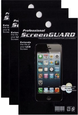 Professional Pack of 3 Screen Protector for Micromax Canvas Spark Q380 Screen Guard for Micromax Canvas Spark Q380