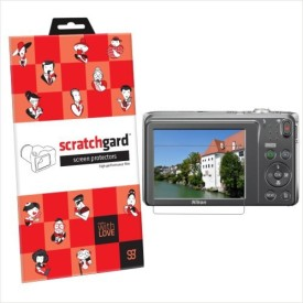 Scratchgard Original Ultra Clear - (S370) Screen Guard for Nikon CP S3700