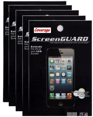 Coverage Pack of 5 Screen Protector for Micromax Canvas Nitro 3 E455 Screen Guard for Micromax Canvas Nitro 3 E455