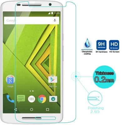 Radium Gold 534 Tempered Glass for Moto X Play