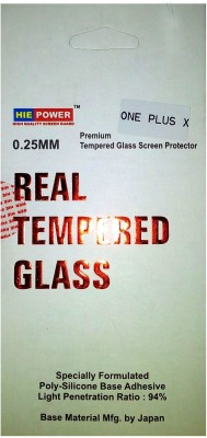 MobiAcz msg80 Tempered Glass for One Plus X