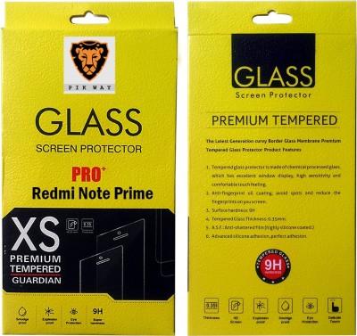 Pikway Redmi Note Prime Tempered Glass for Xiaomi Redmi Note Prime