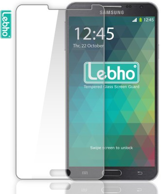 Lebho Anti-Scratch Tempered Glass for Samsung Galaxy Note 3 Neo