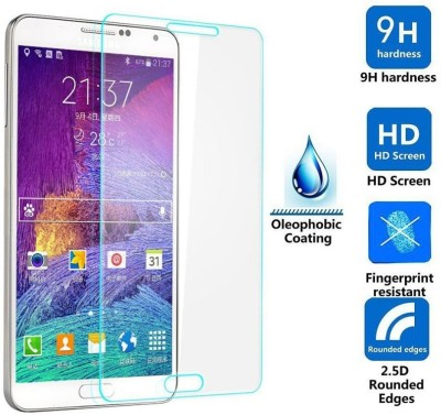 MMX Tempered Glass Tempered Glass for Samsung Galaxy Note 4