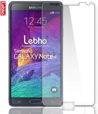Lebho Anti Scratch Tempered Glass for Samsung Galaxy Note 4