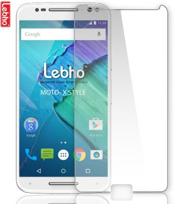 Lebho LBXstyle Tempered Glass for Moto X Style