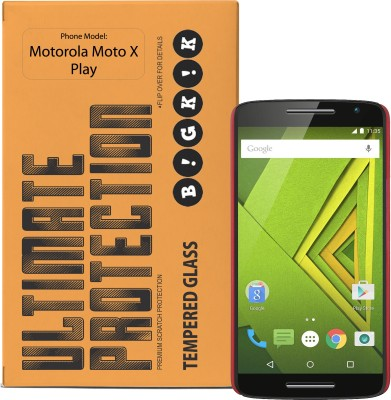 Bigkik 2911071021C Tempered Glass for Motorola Moto X Play