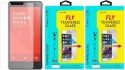Fly NOTE3G4G Oil Coated Pack Of 2 Tempered Glass For Xiaomi Redmi Note 3G/4G