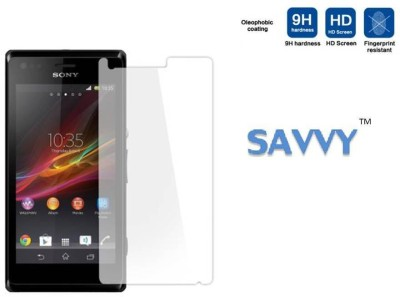 Savvy XP M Tempered Glass for Sony Xperia M