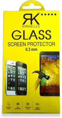 RK Mobiles q400tmp Tempered Glass for Micromax Canvas Blaze 4G Q400
