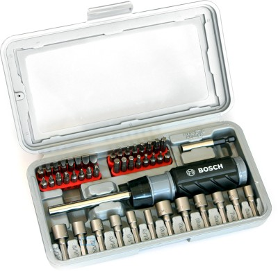 2607 019 504 Ratchet Screwdriver Set