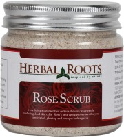 Herbal Roots Skin Care 100% Natural Beauty Product - Rose Face And Body Scrub (100 G)