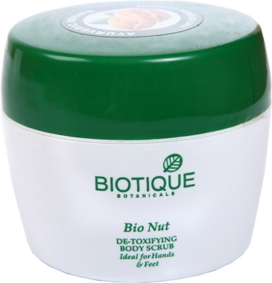 Biotique Scrubs Biotique Bio Nut De Toxifying Body Scrub