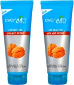 Everyuth Scrubs Everyuth Exfoliating Walnut Twin Pack Scrub