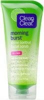 Clean & Clear Morning Energy Shine Ccontrol Oil-Free With Bursting Beads Scrub (150 Ml)