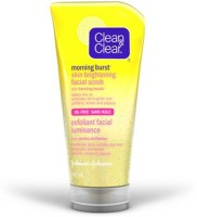 Clean & Clear Morning Energy Skin Brightening Oil-Free With Bursting Beads Scrub (150 Ml)