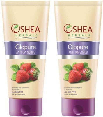 Oshea Herbals Glopure Anti Tan Scrub 120 Gm Scrub available at Flipkart for Rs.390