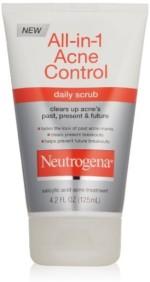 Neutrogena Scrubs Neutrogena Acne Control Daily Scrub