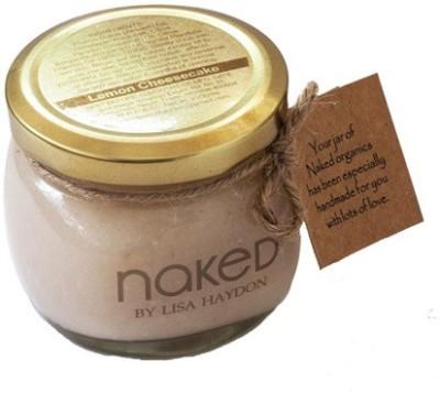 Naked Scrubs Naked Lemon Cheesecake Bath/Body Salt Scrub