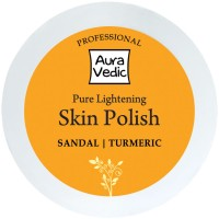 Auravedic Professional Pure Lightening Skin Polish With Sandal Turmeric Scrub (50 Ml)