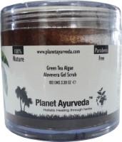 Planet Ayurveda Green Tea Algae Aloe-vera Gel  Scrub (100 G)