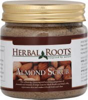 Herbal Roots Skin Care 100% Natural Beauty Product - Almond Face And Body Scrub (100 G)