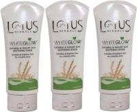 Lotus Herbals White Glow Oatmeal & Yogurt Skin Whitening  Scrub (300 G)