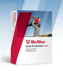 McAfee Total Protection 2011 1 PC 1 Year