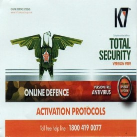 K7 Total Security 1Year Renewal Activation Key