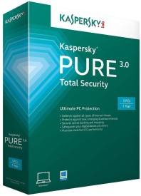 Kaspersky 2015 Pure Total Security Protection 3 User